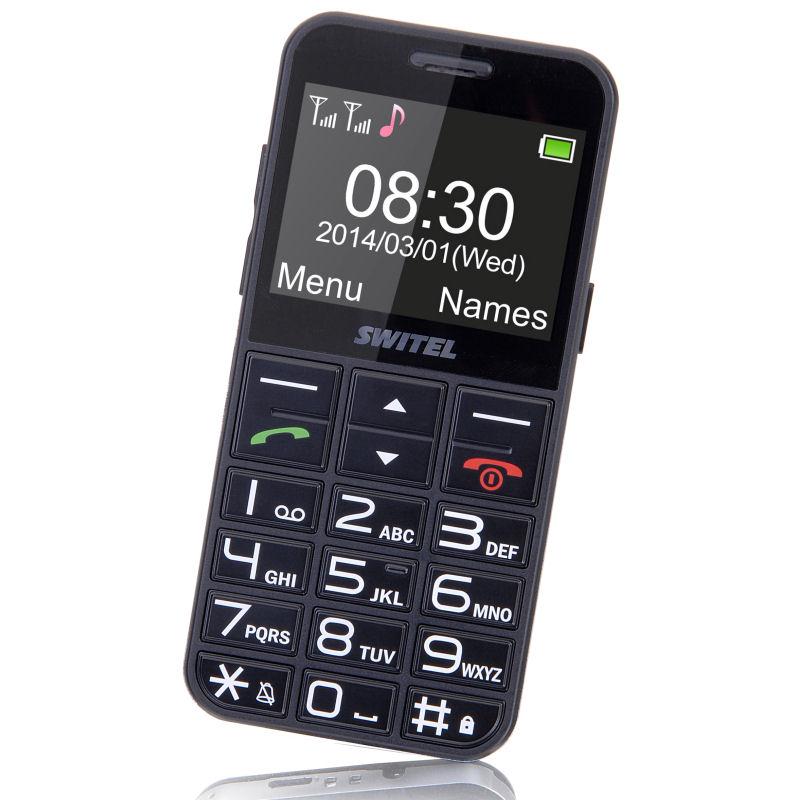 Le téléphone portable pour senior Switel M190