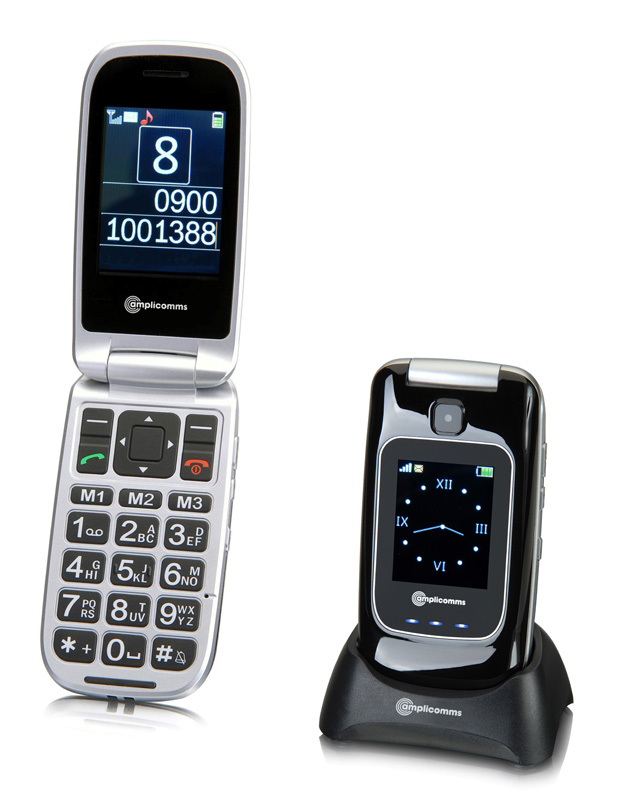 Le t�l�phone portable Amplicomms PowerTel M7500