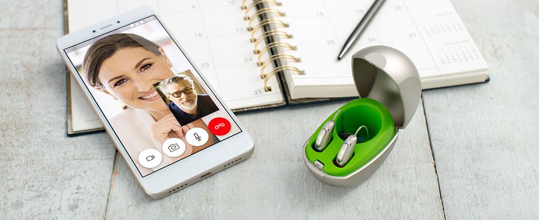 La connectivité de l'aide auditive Phonak Audéo Marvel à tous les téléphones portables bluetooth.