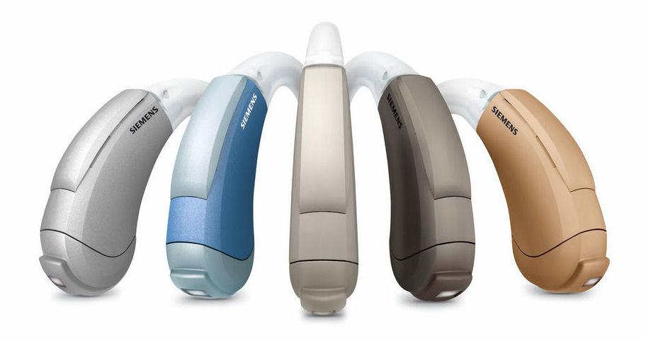 L'appareil auditif Siemens Aquaris en cinq couleurs