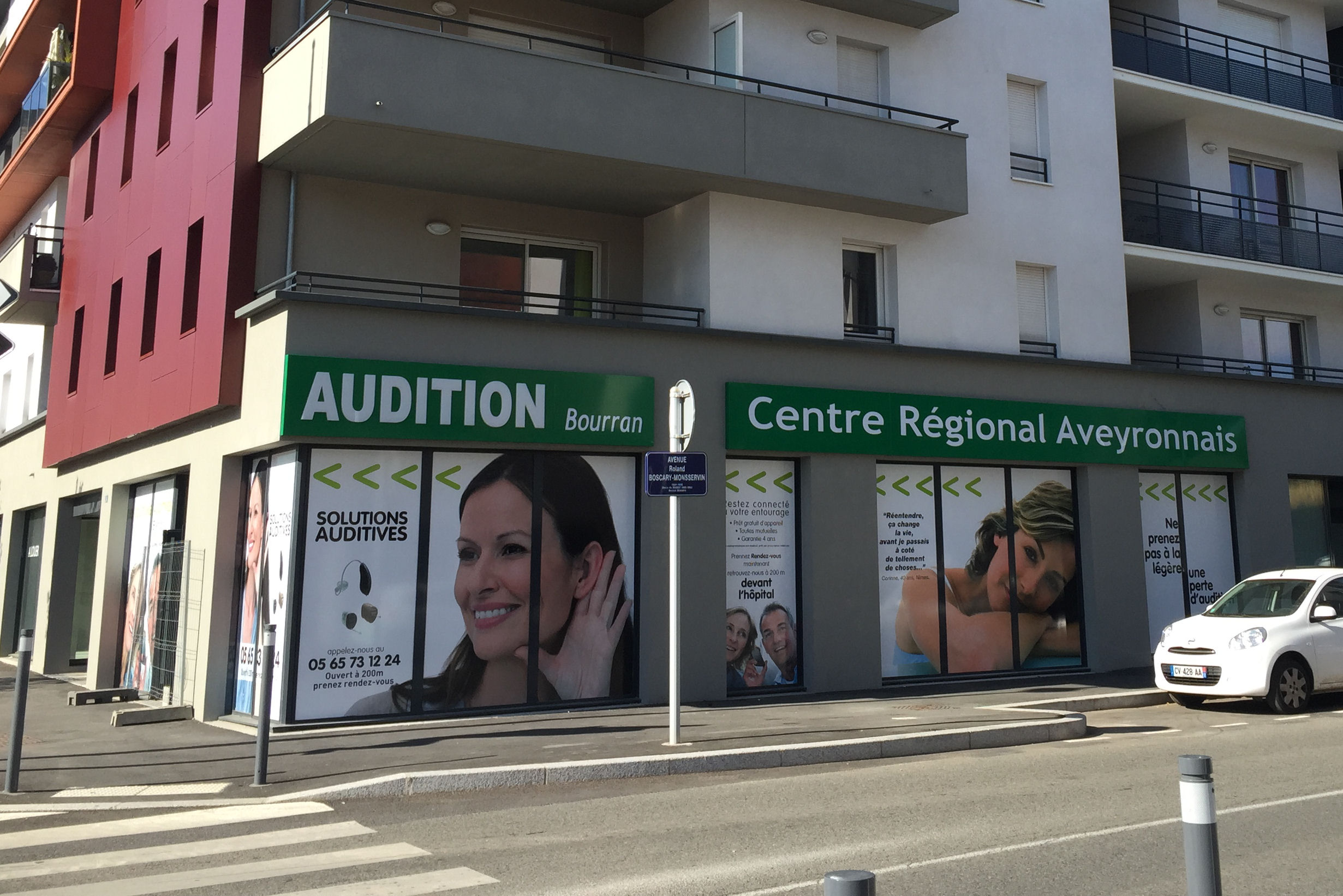 Le centre auditif de Bourran est le centre régional aveyronnais d'audition.