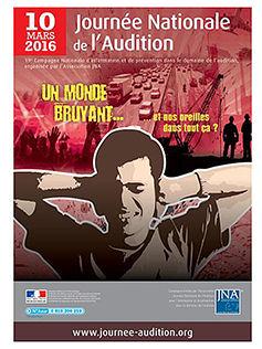 La journée nationale de l'audition du 10 mars 2016 à lieu chez Minitone à Nîmes.