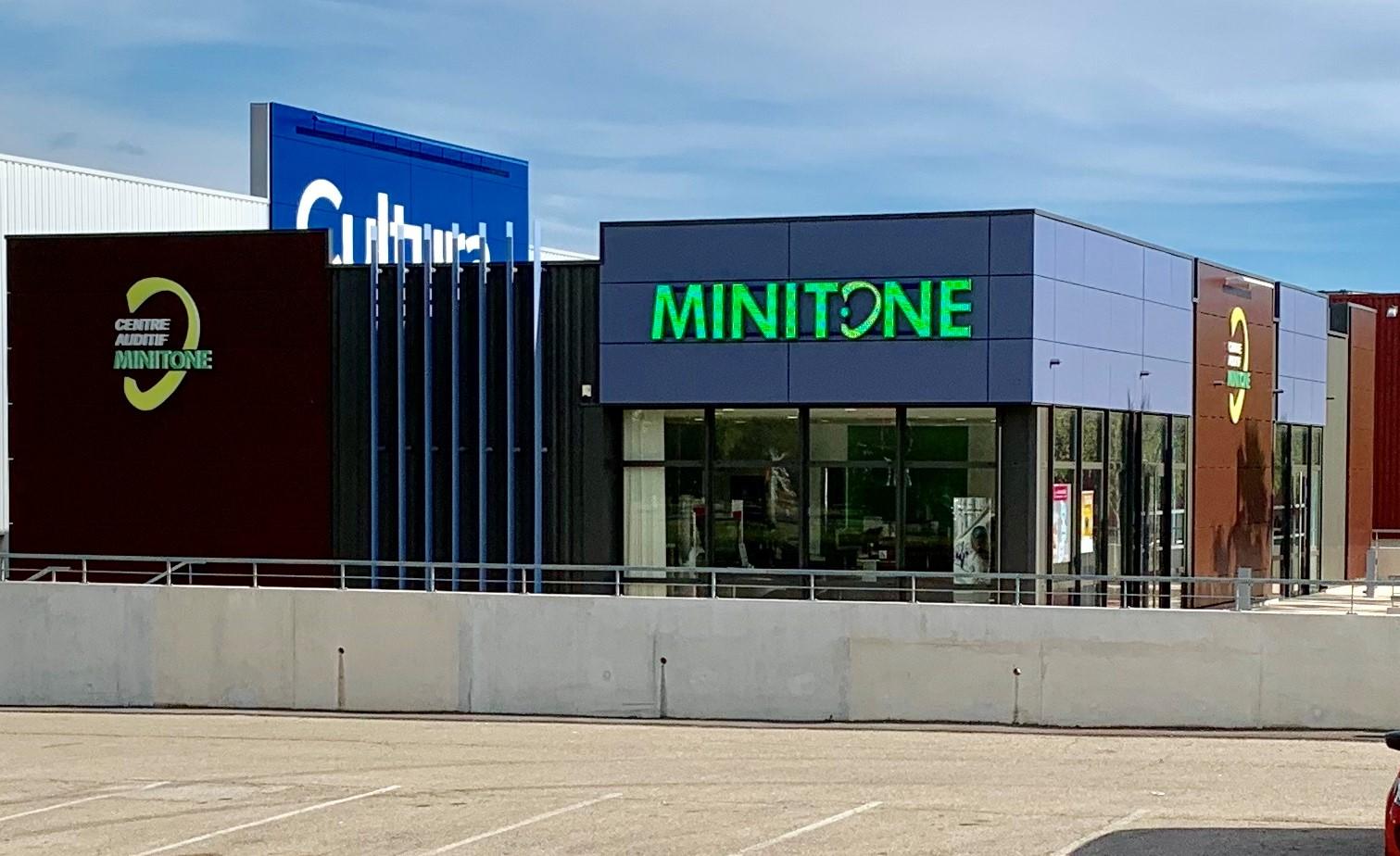 Le centre auditif Minitone à Nîmes Carré Sud dans le Gard 30