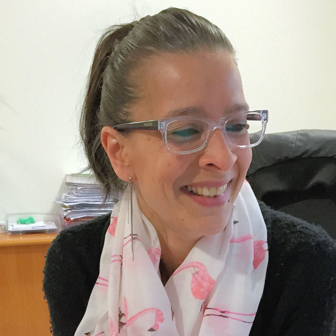 Sonya de l'équipe des audioprothésistes du centre auditif Minitone de Nîmes.