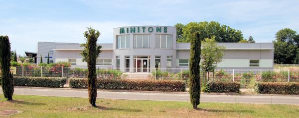 Le centre auditif MINITONE pendant les travaux du tram'bus à Nîmes.